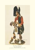 Gli Highlander di Gordon Stampa giclée premium di A.E. Haswell Miller