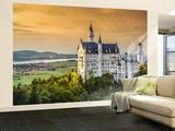 Neuschwanstein Castle Non-Woven Vlies Wallpaper Mural Tapettijuliste