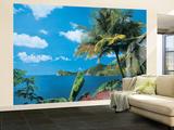 St. Lucia Non-Woven Vlies Wallpaper Mural Wandgemälde
