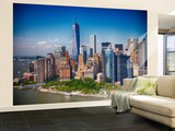Lower Manhattan Skyline Non-Woven Vlies Wallpaper Mural Wallpaper Mural