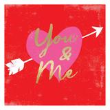 Valentines Day Heart 5 Affischer av Ophelia Co.