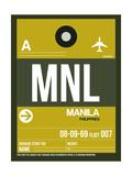 MNL Manila Luggage Tag II Art by  NaxArt