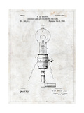 Electric Lamp Posters af  Patent