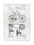 Bicycle Kunstdrucke von  Patent