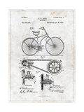 Bicycle Print by  Patent