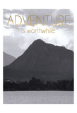 Adventure Is Worthwile BW 2 Stampe di Lauren Gibbons