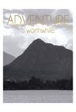 Adventure Is Worthwile BW 2 Láminas por Lauren Gibbons