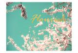 Flourish Apple Sky Affiche par Tracey Telik