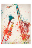 Jazz 2 Plakat af Victoria Brown