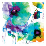 Color Flowers Affiches par Victoria Brown