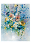 Floral Bouquet 1 Posters by Willem Haenraets