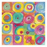 Circles Bright Art par Beverly Dyer