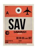 SAV Savannah Luggage Tag I Plakater af  NaxArt