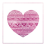 Tribal Heart 2 Prints by Victoria Brown