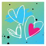 Love is bright Affischer av Jace Grey