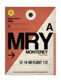 MRY Monterey Luggage Tag I Posters af  NaxArt