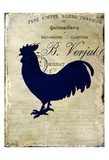 Rooster Silhouette 2 Affiches par Kimberly Allen