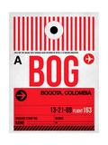 BOG Bogota Luggage Tag I Posters by  NaxArt