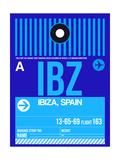 IBZ Ibiza Luggage Tag II Affiches par  NaxArt