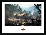 World Of Tanks - Forest Tank Stampa del collezionista
