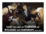 Teamwork Poster van  Sports Mania