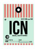 ICN Seoul Luggage Tag I Posters af  NaxArt