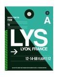 LYS Lyon Luggage Tag II Prints by  NaxArt