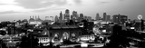 Union Station at Sunset with City Skyline in Background, Kansas City, Missouri, USA Fotografisk tryk af Panoramic Images,