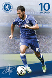 Chelsea F.C.- Hazard 16/17 Kunstdruck
