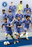 Chelsea F.C.- Players 16/17 Kunstdrucke