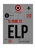 ELP El Paso Luggage Tag I Plakat af  NaxArt