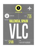 VLC Valencia Luggage Tag II Kunstdrucke von  NaxArt