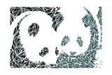 Panda Bears Prints by Cristian Mielu