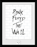 The Wall - White Wall Collector Print