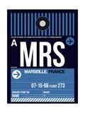 MRS Marseille Luggage Tag II Plakater af  NaxArt