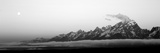 Teton Range Grand Teton National Park Wy Usa Fotografisk tryk af Panoramic Images,