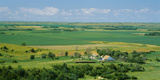 High Angle View of a Landscape, Arnold, Custer County, Nebraska, USA Fotografie-Druck von  Panoramic Images
