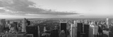 Cityscape at Sunset, Central Park, East Side of Manhattan, New York City, New York State, USA Photographic Print by  Panoramic Images