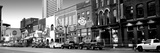 Street Scene at Dusk, Nashville, Tennessee, USA Photographic Print by  Panoramic Images