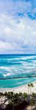 High Angle View of Ocean, Waikiki Beach, Oahu, Hawaii Islands, Hawaii, USA Photographic Print by  Panoramic Images