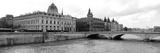 Pont Au Change over Seine River, Palais De Justice, La Conciergerie, Paris, Ile-De-France, France Photographic Print