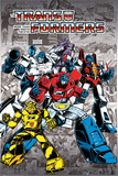 Transformers- G1 Heroes & Villians Kunstdruck