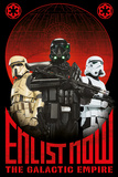 Star Wars: Rogue One- Enlist Now For The Empire Affiches
