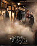 Fantastic Beasts- Enterprising Foursome Prints