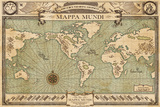 Fantastic Beasts- New Mappa Mundi Prints