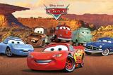 Disney: Cars-Lovable Characters Plakat