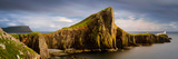 View of Neist Point Peninsula, Isle of Skye, Scotland Fotografisk tryk af Panoramic Images,