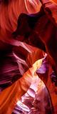 Upper Antelope Canyon Rock Formations, Page, Arizona, USA Lámina fotográfica