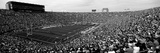 High Angle View of a Football Stadium Full of Spectators, Notre Dame Stadium, South Bend Reproduction photographique
