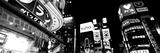 Low Angle View of Buildings Lit Up at Night, Shinjuku Ward, Tokyo Prefecture, Kanto Region, Japan Photographic Print